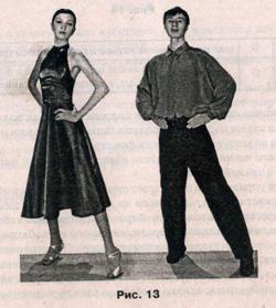 Фокстрот, техника танца, школа танцев