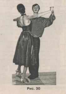 Фокстрот, медленный фокстрот, техника танца, школа танцев, импетус