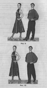 фокстрот основные движения танца