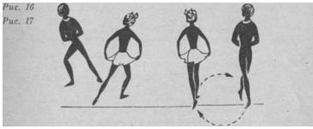 Падепатинер техника движения в повороте