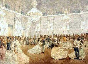 Исполнение мазурки на свадебном бале