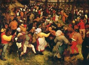 Свадебный танец в средние века
