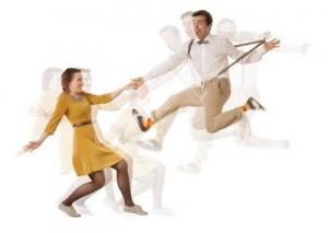 Танцы в стиле свинг и рок-н-рола