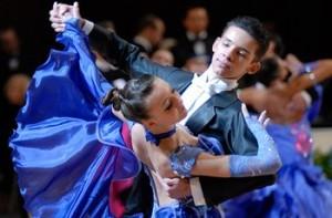 Одежда для европейских спортивных бальных танцев