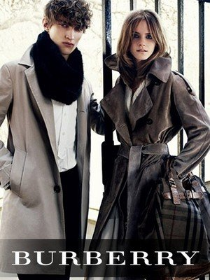 Элитная одежда Burberry