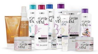 Линия «Eugene Perma Cycle Vital» для нарощенных волос