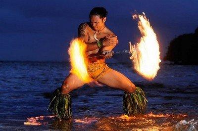 Прекрасная музыка и танцы Самоа