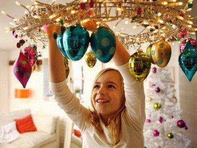 Украшаем квартиру на Новый Год 2015