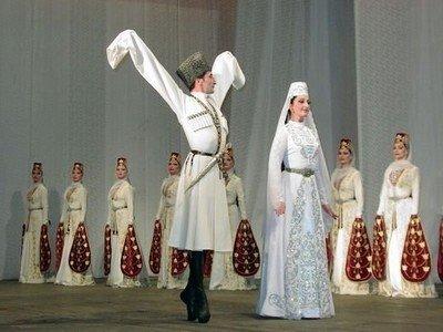Танец «Симд» - народный танец осетин