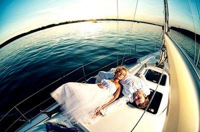 Свадебная прогулка на яхте