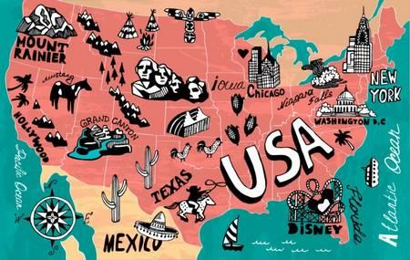 4 самых интересных штата США